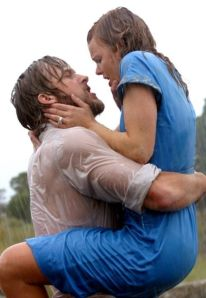 Steamy scene from the Notebook